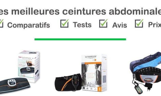 Ceinture abdominale électrostimulation : Test, comparatif, avis, prix