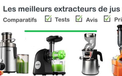 Les meilleurs extracteurs de jus : comparatif et avis