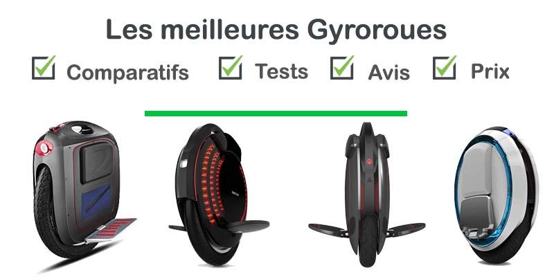 Les meilleures gyroroues : comparatif et avis