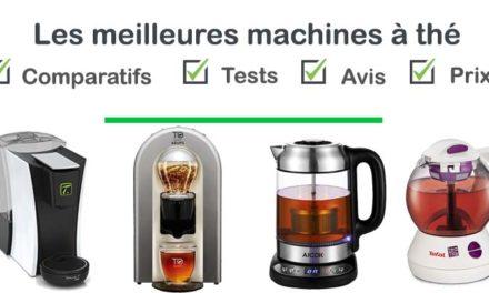 Machine à thé : test, comparatif, avis, prix