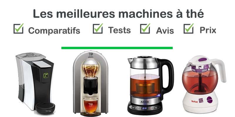 Les meilleures machines à thé : comparatif et avis