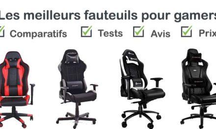 Les meilleures chaises / fauteuils gamer : comparatif et avis