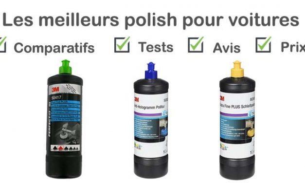 Les meilleurs polish pour voiture : comparatif et avis