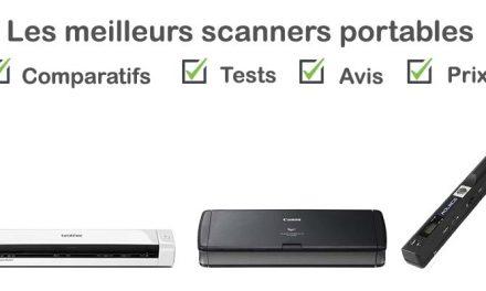 Les meilleurs scanners portables : comparatif et avis