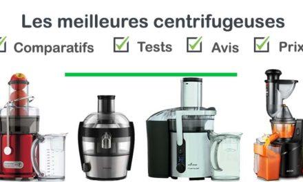 Centrifugeuse : test, comparatif, avis, prix