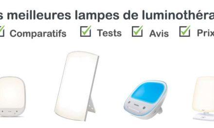 Lampe luminothérapie : test, comparatif, avis, prix