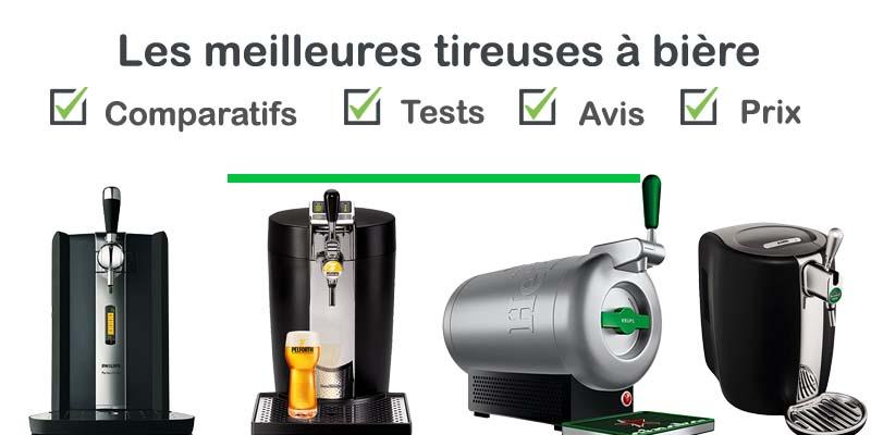 Tireuse à bière : test, comparatif, avis, prix