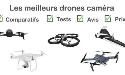 Drone caméra : tests, comparatif, avis, prix