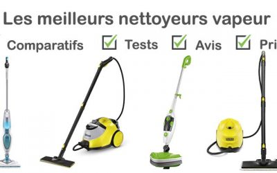 Les meilleurs nettoyeurs vapeurs : comparatif et avis