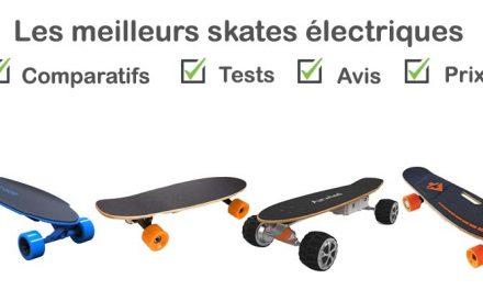 Skate électrique : tests, comparatif, avis, prix