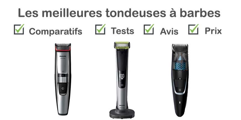 Les meilleures tondeuses à barbe : comparatif et avis