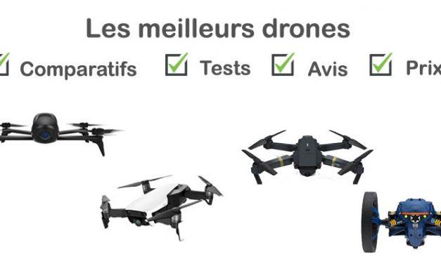 Drone : tests, comparatif, avis, prix