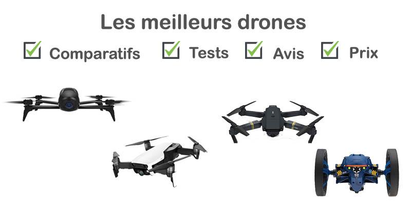 Les meilleurs drones : comparatif et avis