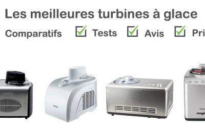 Les meilleures turbines à glace : comparatif et avis