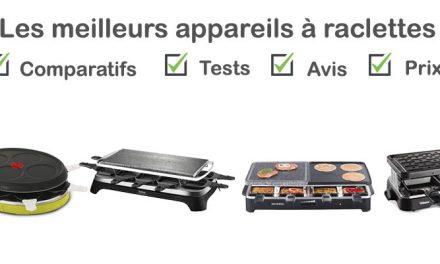 Les meilleurs appareils à raclette : comparatif et avis