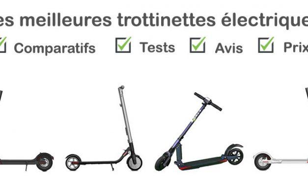 Trottinette électrique : tests, comparatif, avis, prix