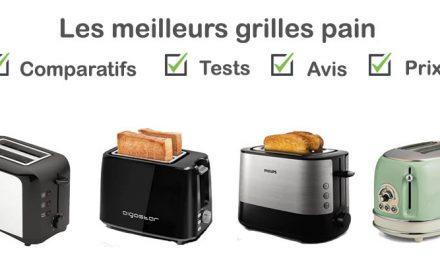 Grille pain : comparatif, tests, avis, prix