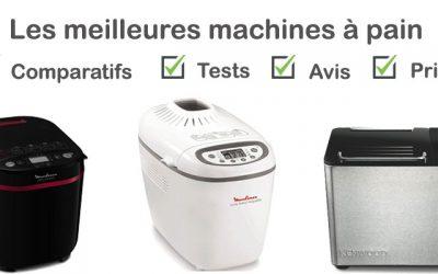 Les meilleures machines à pain : comparatif et avis