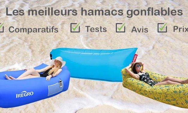 Hamac gonflable : comparatif, tests, avis, prix