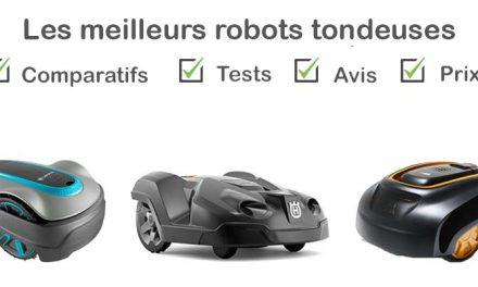 Les meilleurs robots tondeuse : comparatif et avis