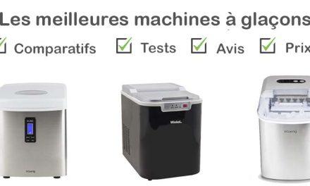 Les meilleures machines à glaçons : comparatif et avis