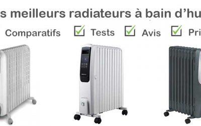 Les meilleurs radiateurs bain d'huile : Comparatif et Avis