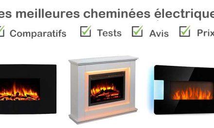 Les meilleures cheminées électriques : Comparatif et Avis