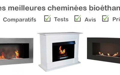 Les meilleures cheminées bioethanol : Comparatif et Avis