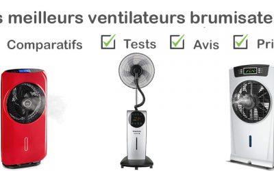 Les meilleurs ventilateurs brumisateurs : comparatif et avis