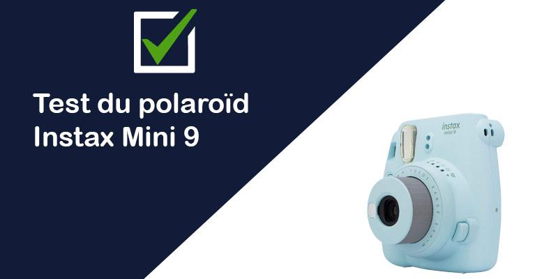 [TEST & AVIS] Instax Mini 8 Fujifilm : appareil photo polaroïd