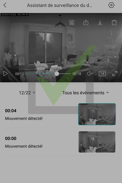 vision nocturne caméra Xiaomi