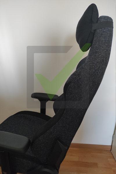 fauteuil titan avec oreiller