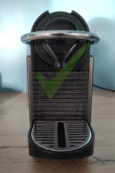 machine café dosettes pixie