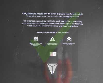 ouverture colis secretlab