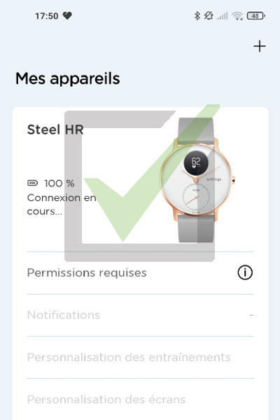 steel hr smartphone application