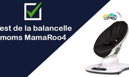 [Test & Avis] La balancelle électrique MamaRoo4 de 4moms